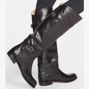 Frye Dorado black riding boots